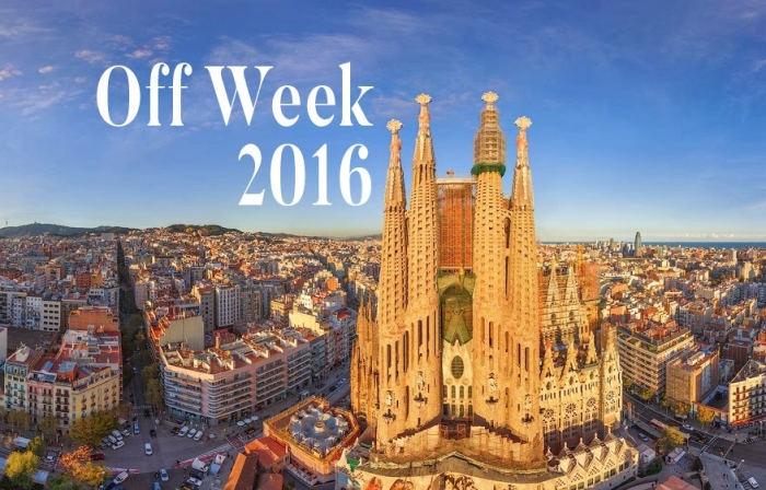 Off Week 2016: Parties calling your name