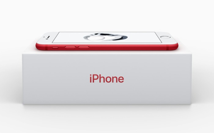 Apple omits charity branding on red iPhone in China