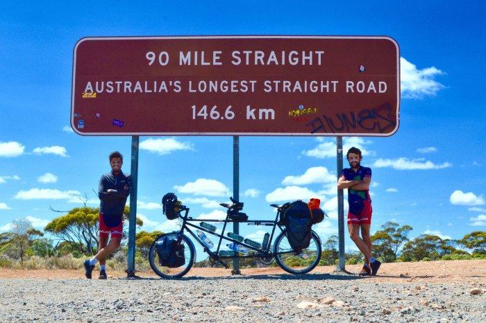 British pair set tandem cycling worldrecord