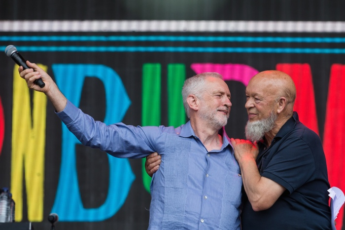 Watch Jeremy Corbyn's speech at Glasto